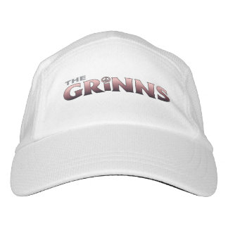 The GRINNS hat (white/pink)