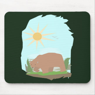 The Grizzly Bear Mouse Pad