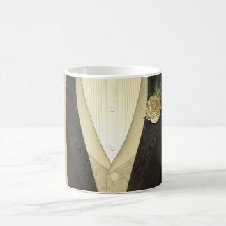 "The Groom ""His"" (ivory) Wedding Coffee Mug"