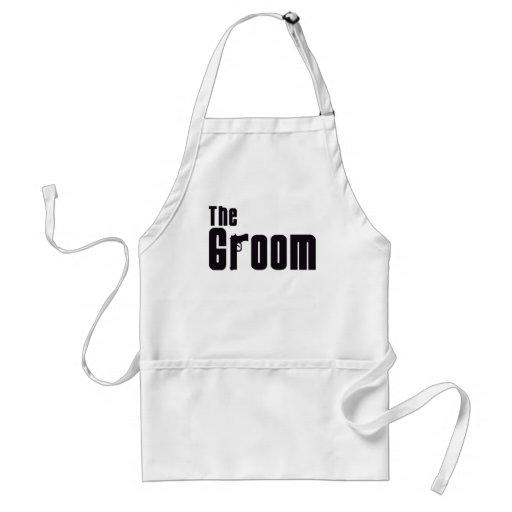 The Groom (Mafia) Aprons