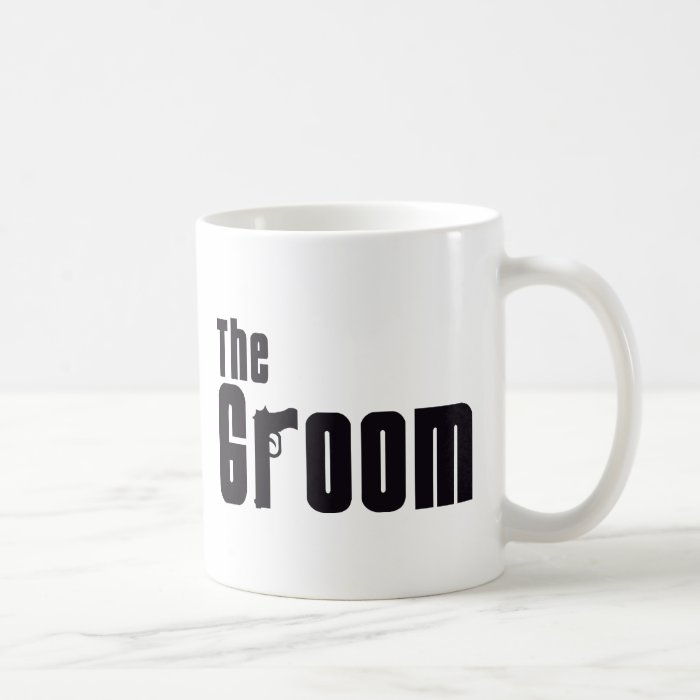 The Groom (Mafia) Basic White Mug