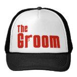 The Groom (Mafia Red) Cap