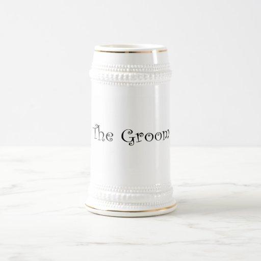 The Groom Mugs