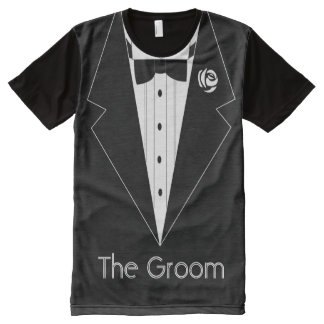 The Groom,smoking T-shirt,suit t shirt All-Over Print T-Shirt