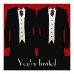 The Grooms 13 Cm X 13 Cm Square Invitation Card