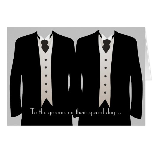 The Grooms Card