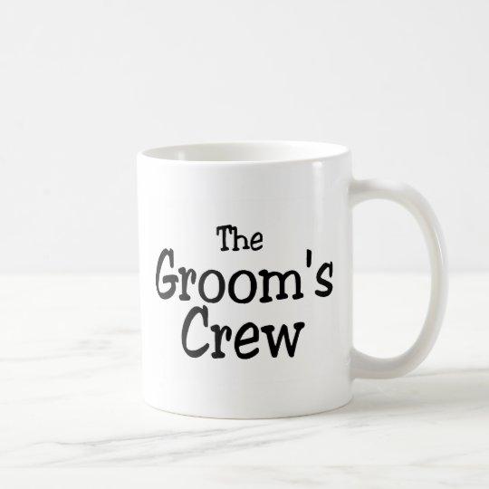 The Grooms Crew Wedding Coffee Mug