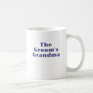 The Grooms Grandma Basic White Mug