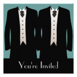 The Grooms Personalized Invitation