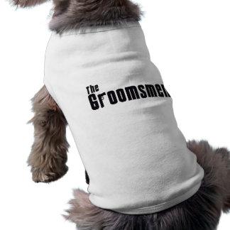 The Groomsmen (Mafia) Sleeveless Dog Shirt