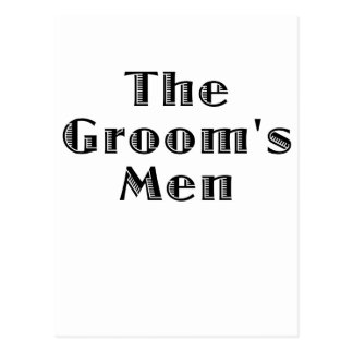 The Groomsmen Postcard