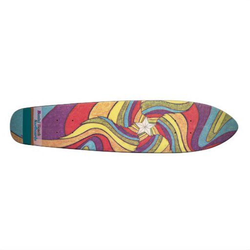 The Groovster Groovy Star Skate Board
