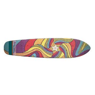 The Groovster Groovy Star Skateboard Deck