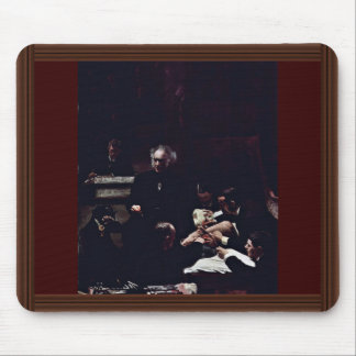 The Gross Clinic By Thomas Eakins (Best Quality) Mouse Mat