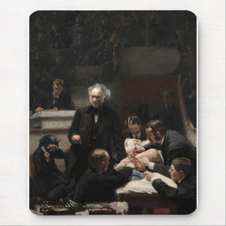 The Gross Clinic by Thomas Eakins Mouse Mat