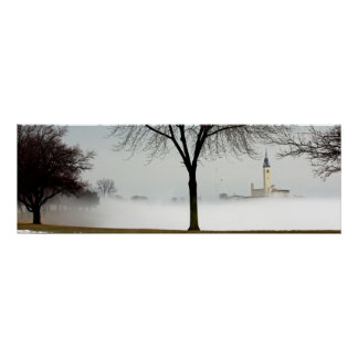 the Grosse Pointe Yacht Club Lakeshore Drive Poster