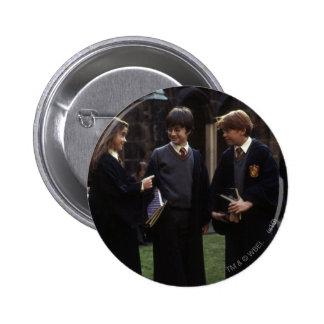 The group outside of Hogwarts 6 Cm Round Badge