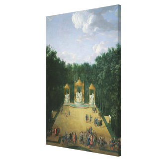 The Groves of the Baths of Apollo Canvas Print