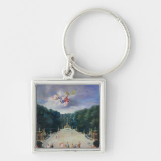The Groves of Versailles Key Ring