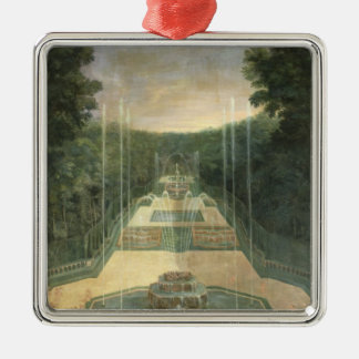 The Groves of Versailles Silver-Colored Square Decoration