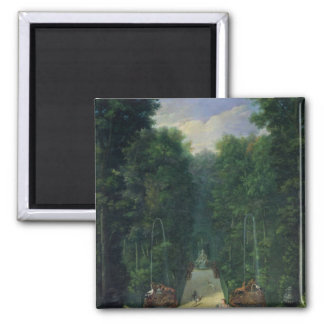 The Groves of Versailles Square Magnet