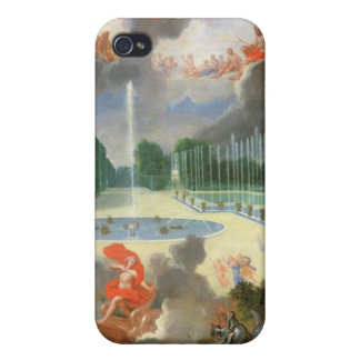 The Groves of Versailles. View of Dragon Pool iPhone 4 Case