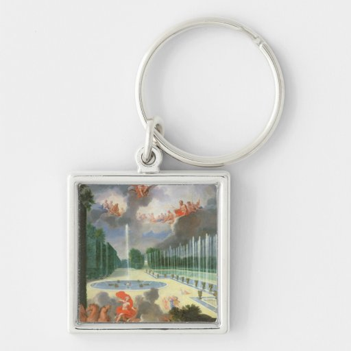 The Groves of Versailles. View of Dragon Pool Key Chains