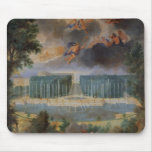 The Groves of Versailles. View of pool of Neptune Mouse Mat