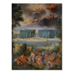 The Groves of Versailles. View of pool of Neptune Postcard