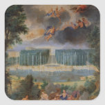 The Groves of Versailles. View of pool of Neptune Square Sticker