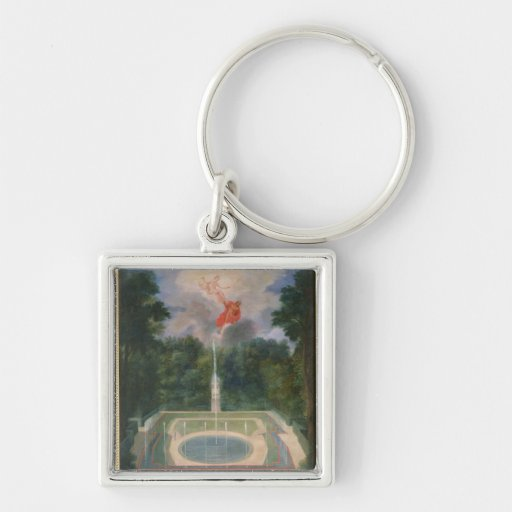 The Groves of Versailles with Mars Keychains