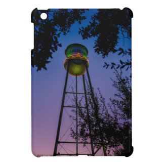 The Gruene water tower with the purple evening sky Cover For The iPad Mini