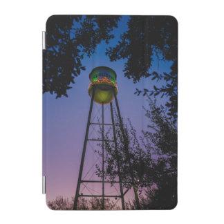 The Gruene water tower with the purple evening sky iPad Mini Cover