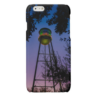 The Gruene water tower with the purple evening sky iPhone 6 Plus Case
