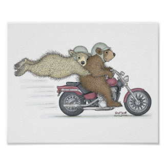 The Gruffies® Wall Art Poster