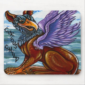 THE GRYPHON Alice in Wonderland Mouse Pad