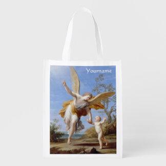 """The Guardian Angel"" custom reusable bag"