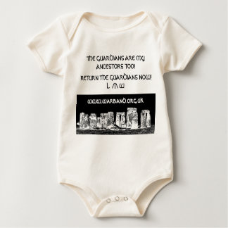 THE GUARDIANS ARE MY ANCESTORS TOO! BABY BODYSUIT