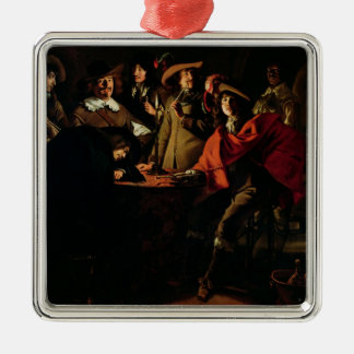 The Guards Smoking, 1643 Christmas Ornament