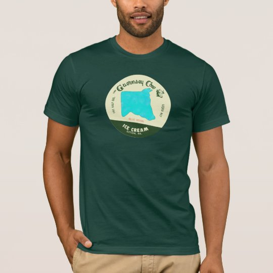 The Guernsey Cow Ice Cream TShirt: Blue Moon