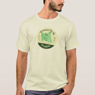 The Guernsey Cow Ice Cream Tshirt: Mint Choc Chip T-Shirt