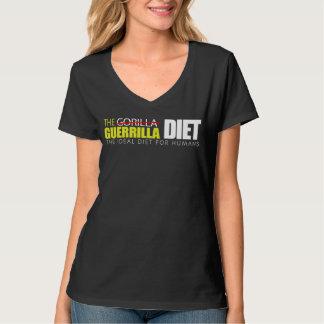 The Guerrilla Diet Women's Nano V-Neck T-Shirt