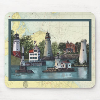 The Guiding Lights of  Ohio Mousepad