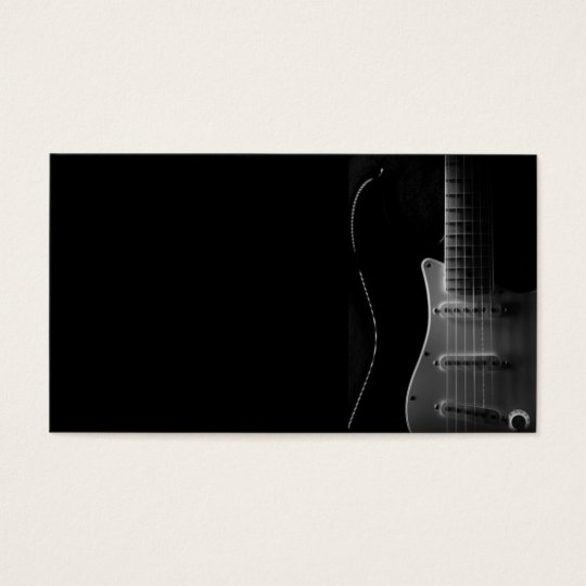 """THE GUITAR"" BUSINESS CARD"