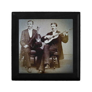 The Guitar Player and the Violinist Vintage Gift Box