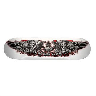 The Gutter and the Gold Skate Custom Skate Board