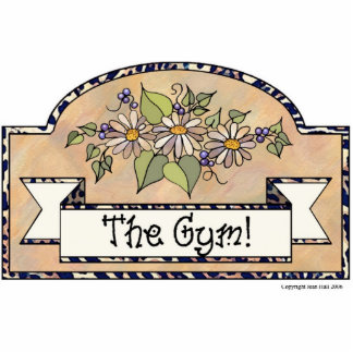 The Gym - Decorative Sign Acrylic Cut Out