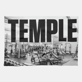 The Gym Is My TEMPLE - Bodybuilding Motivational Towels