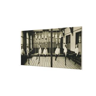The Gymnasium, London Grammar School for Girls, 19 Canvas Print