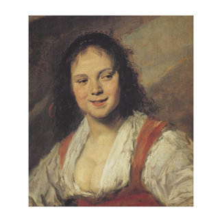 The Gypsy Woman, c.1628-30 Canvas Print